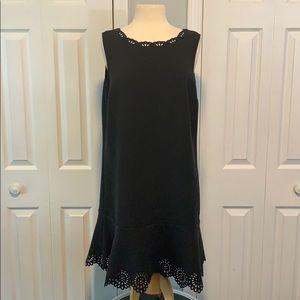 Ann Taylor LOFT sleeveless black dress